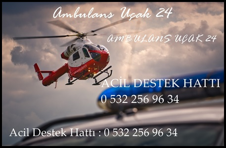 ambulans helikopter kiralama